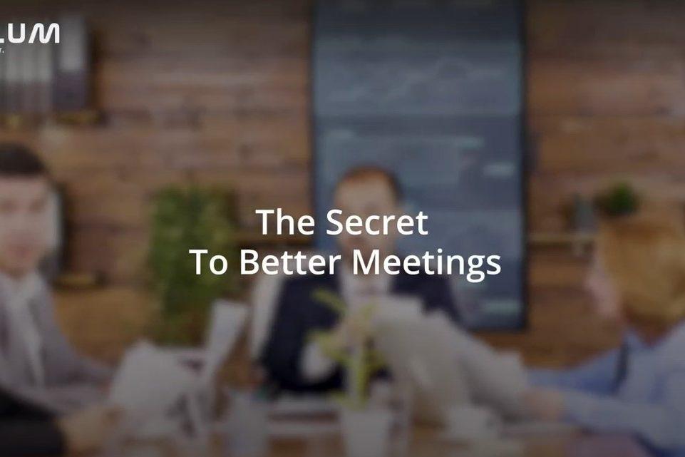 secret better meetings